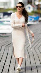 Lulu kjole i offwhite - Dehn Design AS